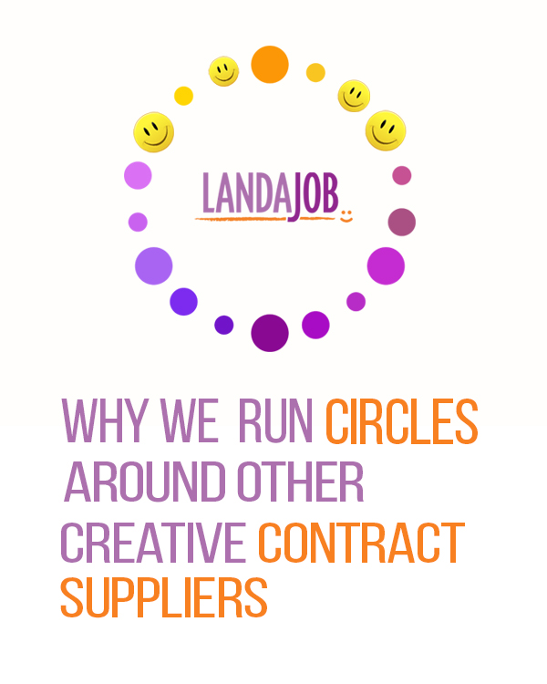 Why we run circles around other creative contract suppliers